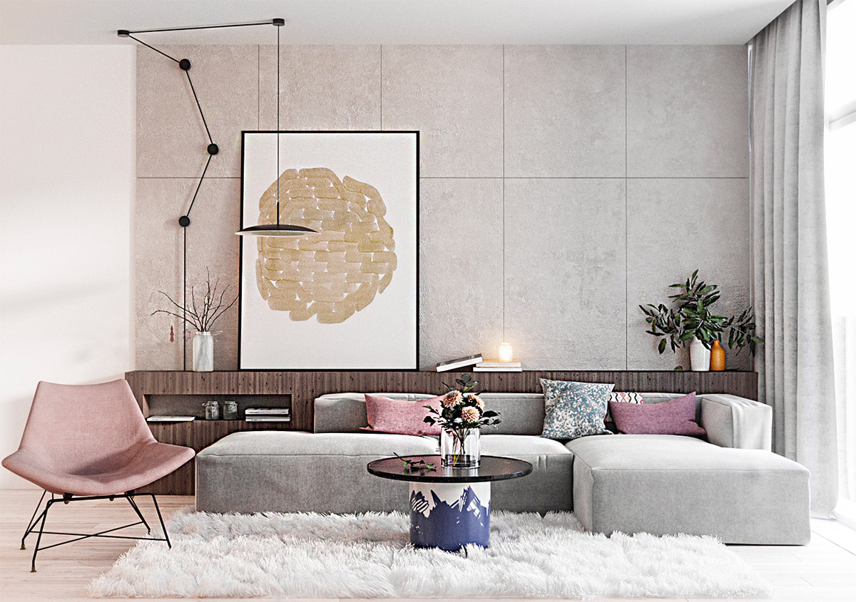 Living Room Interior Design Modern
