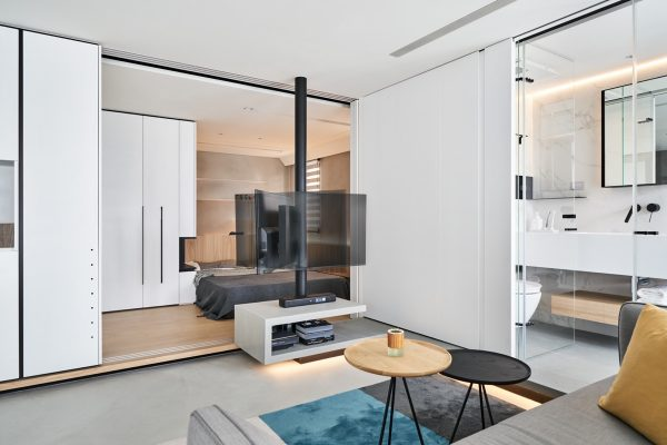 True Open Plan Apartment Under 50 Square Meters 500 Square Feet With Floor Plan Free Cad Download World Download Cad Drawings