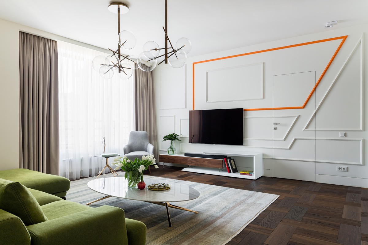 50 Ideas To Decorate The Wall You Hang Your Tv On