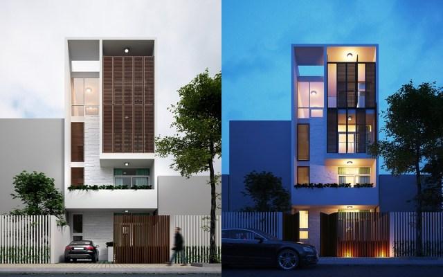 Narrow house house levels