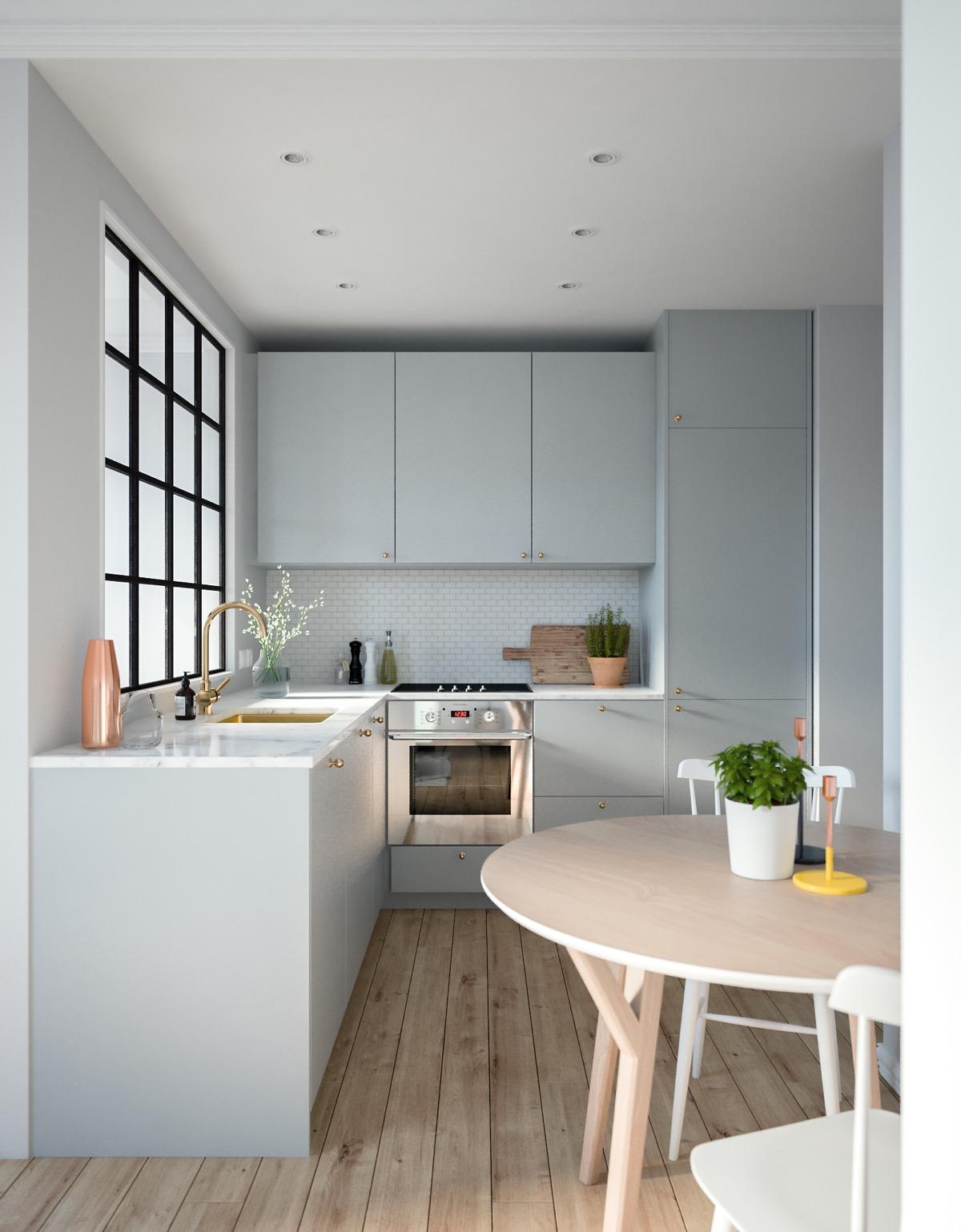Small Kitchen Ideas L Shaped Novocom Top