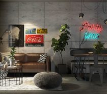Neon-signs-for-the-home-210x185 Three Industrial Style Lofts WIth Natural Accents Upholstery in Victoria