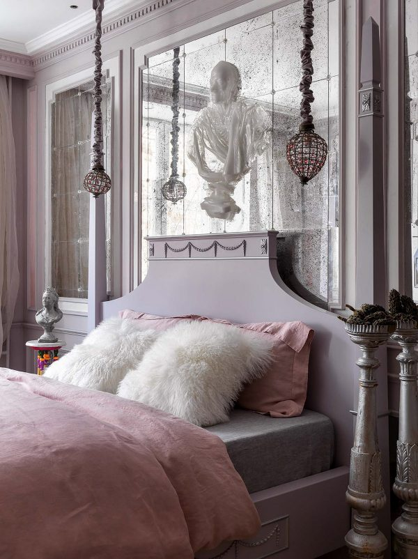 Crystal-bedroom-pendants-600x802 Home Of Surreal Interiors & Modern Empire Style Upholstery in Victoria