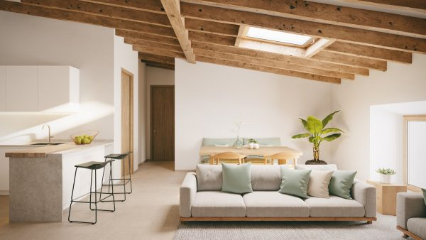 Cutting-roof-beams-for-skylight-600x338 Indoor Skylights: 37 Beautiful Examples To Tempt You To Have One For Yourself