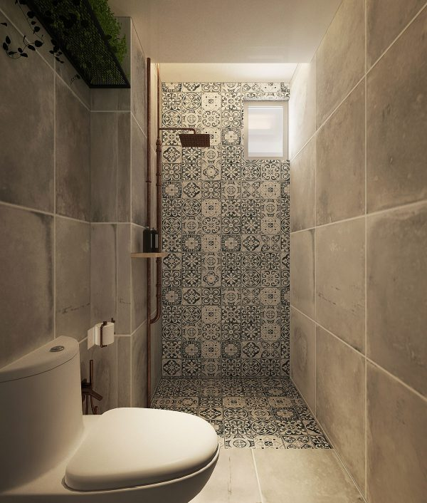 Decorative-tiles-600x706 Three Industrial Style Lofts WIth Natural Accents Upholstery in Victoria