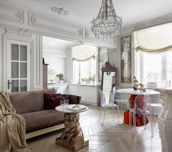 Ghost-chairs-600x529 Home Of Surreal Interiors & Modern Empire Style Upholstery in Victoria