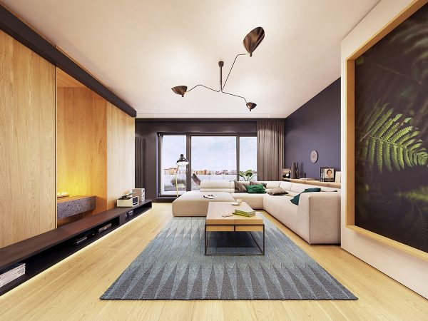Feature Rich Decor In Family Friendly Apartment Pushup24