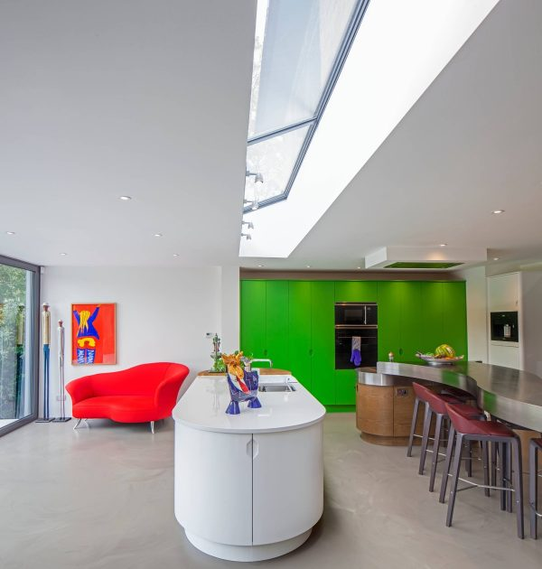 Long-skylight-600x630 Indoor Skylights: 37 Beautiful Examples To Tempt You To Have One For Yourself