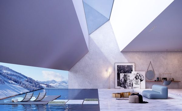 Skylight-design-ideas-600x366 Indoor Skylights: 37 Beautiful Examples To Tempt You To Have One For Yourself