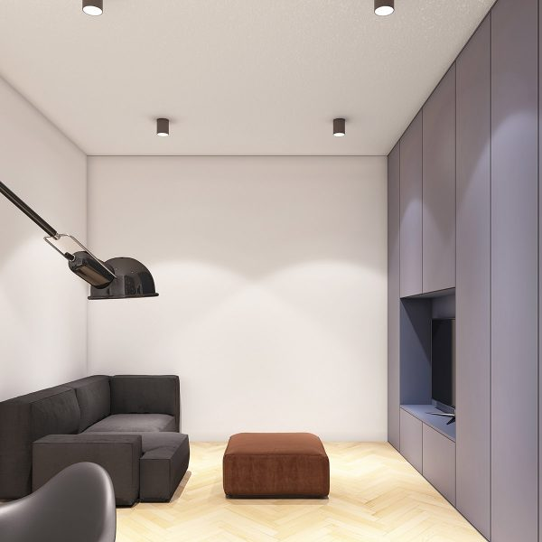apartment-with-built-in-media-storage-600x600 Modern Minimalist Apartment Designs Under 75 Square Meters (808 Square Feet) Upholstery in Victoria