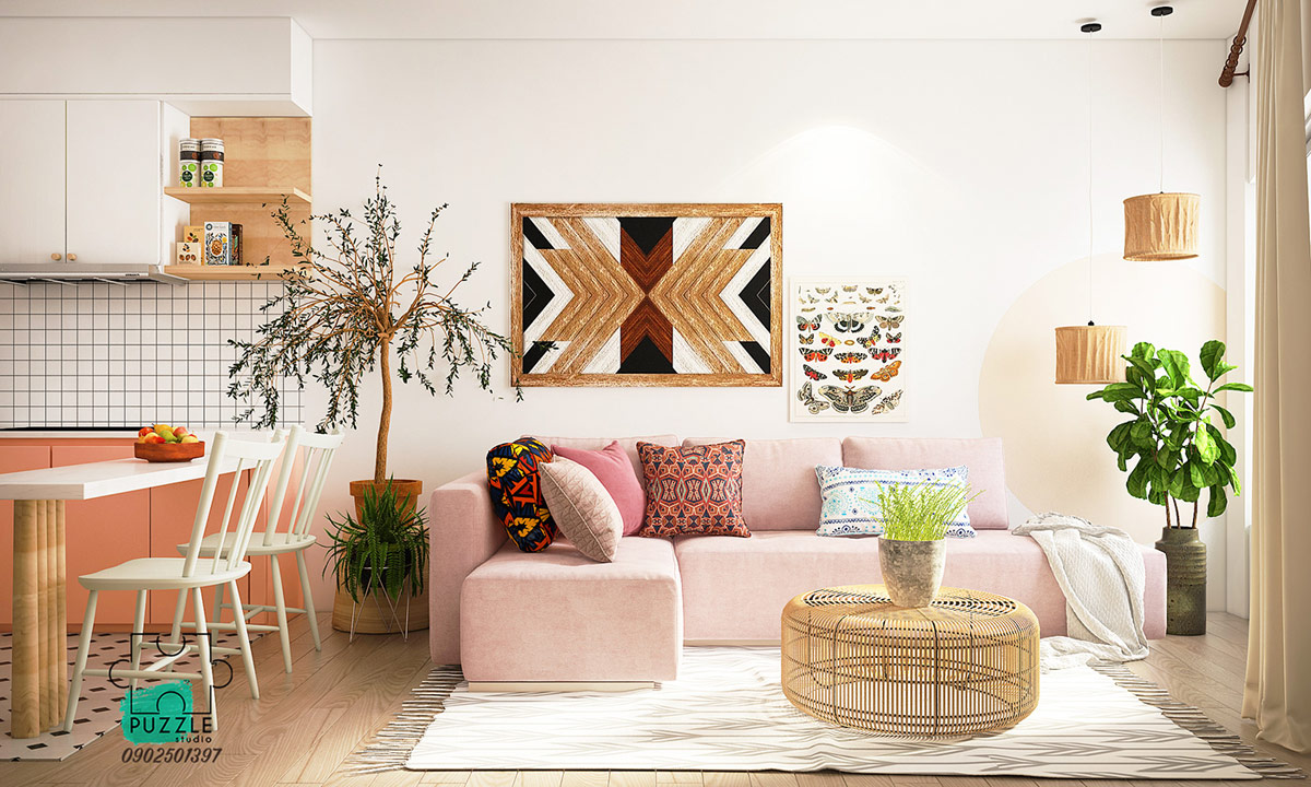 Image result for How rattan bohemia style home