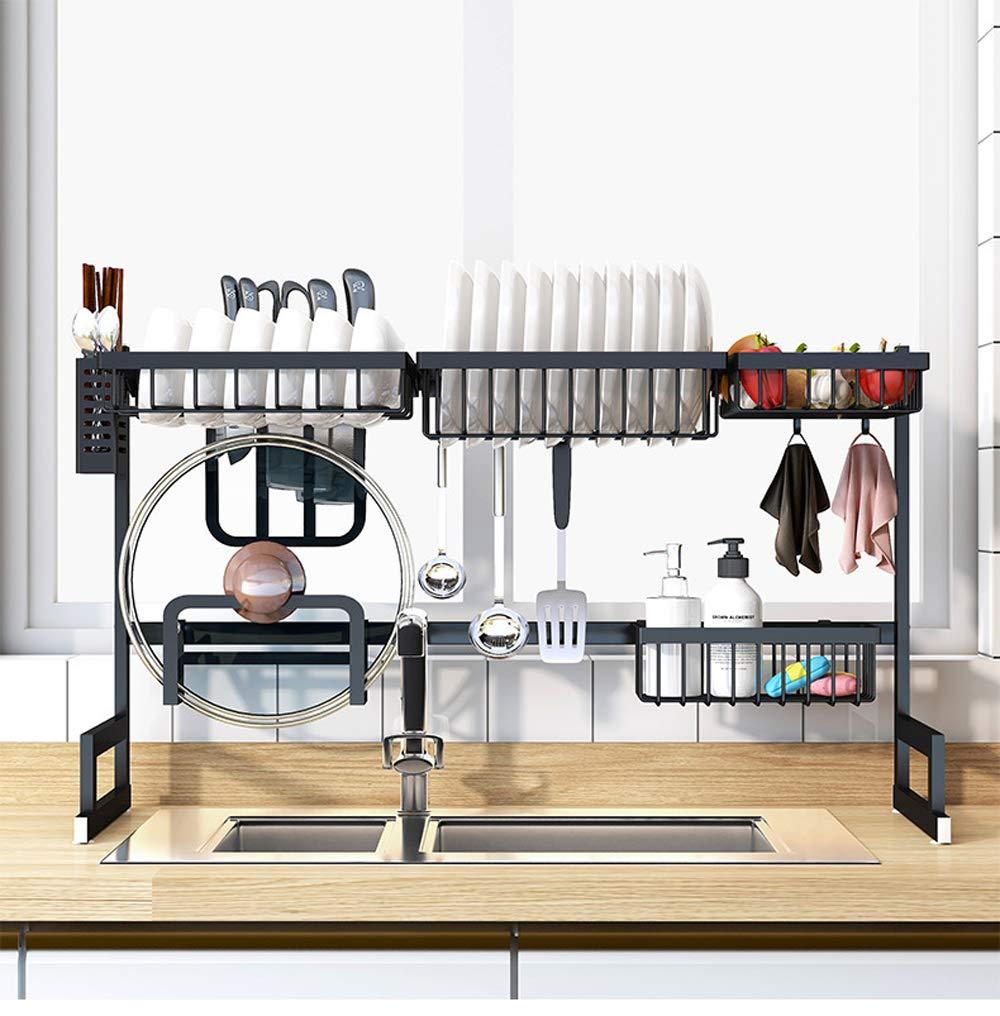 modern dish drainer rack over sink interior design ideas