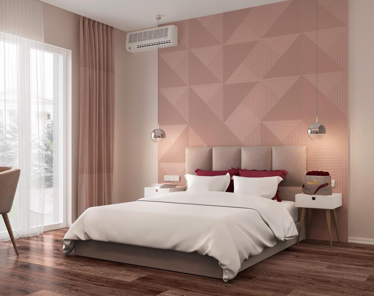 Dark Brown And Pink Bedroom Novocom Top