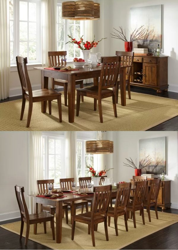 41 Extendable Dining Tables To Maximize, Expandable Dining Room Table Seats 12