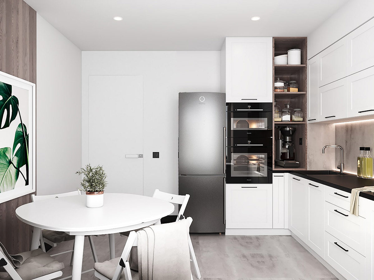 Managing With Less: 3 Small Homes Under 40 Square Meters