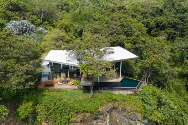 Layout#78 A Costa Rican Cliff House With Spectacular Ocean Views  Free CAD