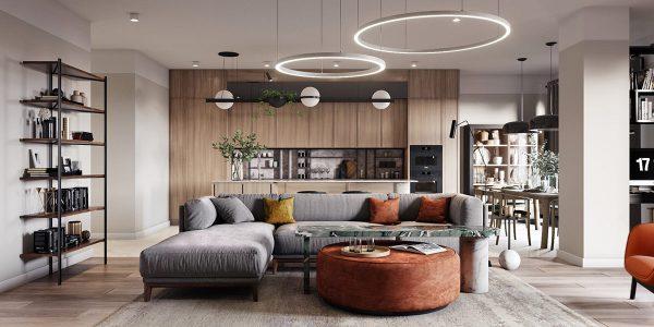 2 Apartments Under 120 Square Meters