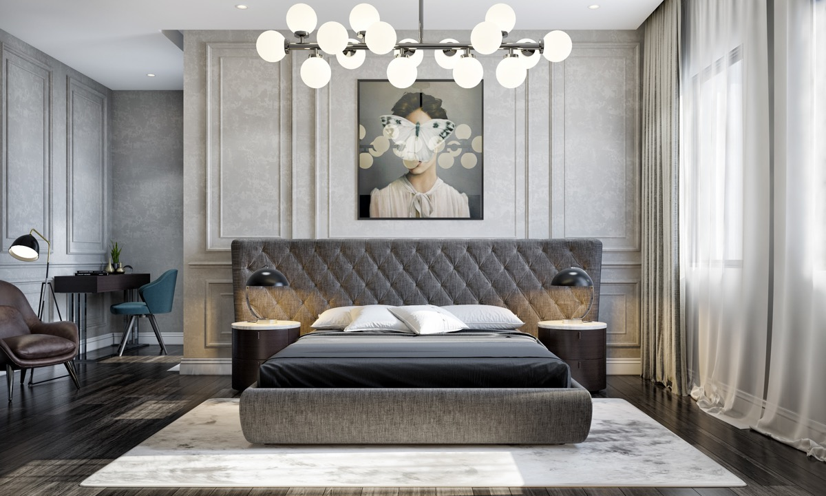 40 Transition Bedrooms A Perfect Blend Of Modern And Traditional Home Designer Point,French Decorating Ideas For The Home