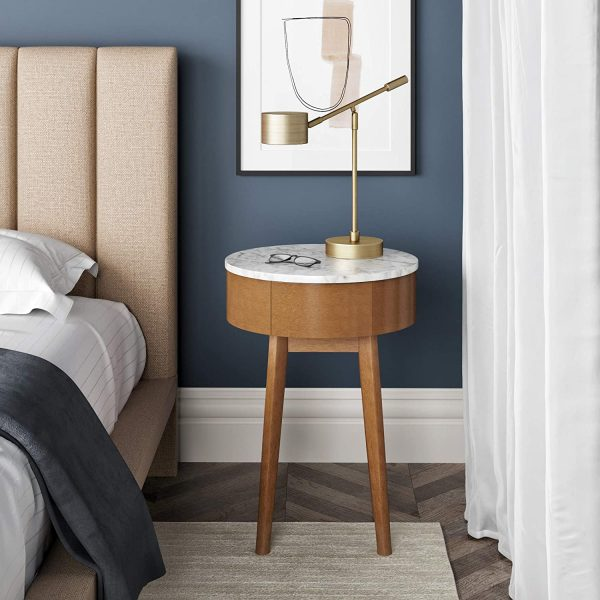 51 Bedside Tables That Blend Convenience And Style In The Bedroom