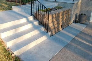 2020 Precast Concrete Steps Cost Price To Replace Cement Stairs | Replacing Concrete Steps With Wood | Stringers | Stair Railing | Composite Decking | Pouring Concrete | Concrete Slab