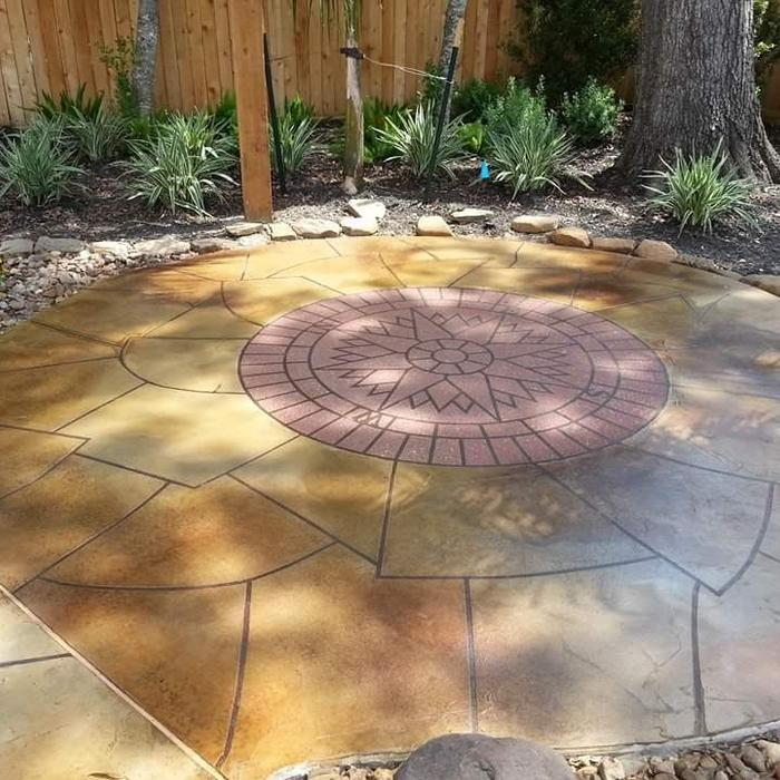 2019 Stamped Concrete Patio Cost Calculator How Much To