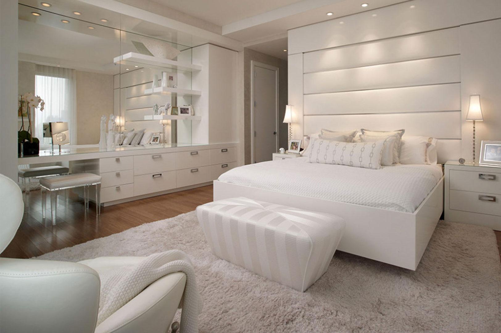 White Bedroom: 16 Modern Design Ideas For Your Bedroom