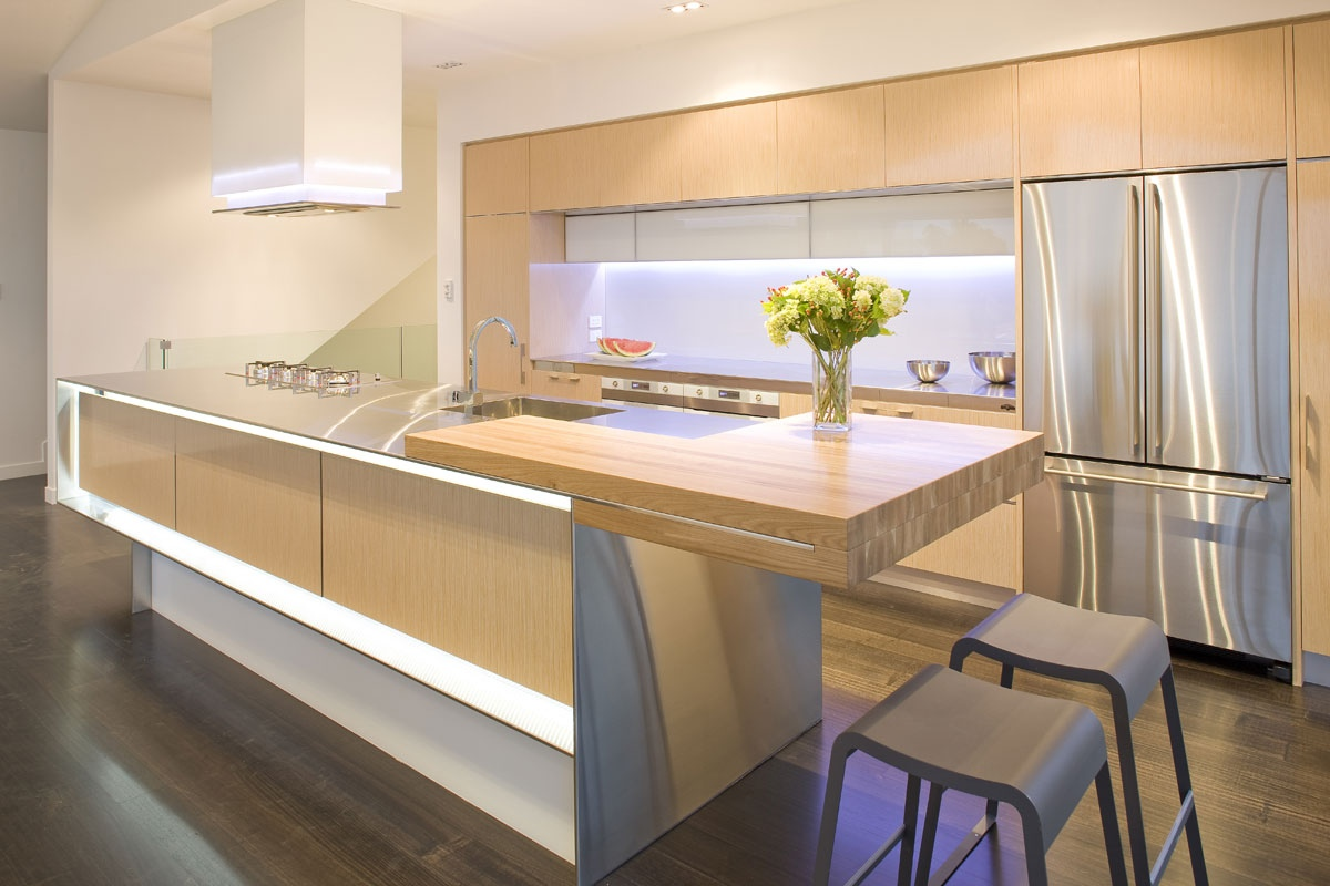 One Wall Galley Kitchen Design
