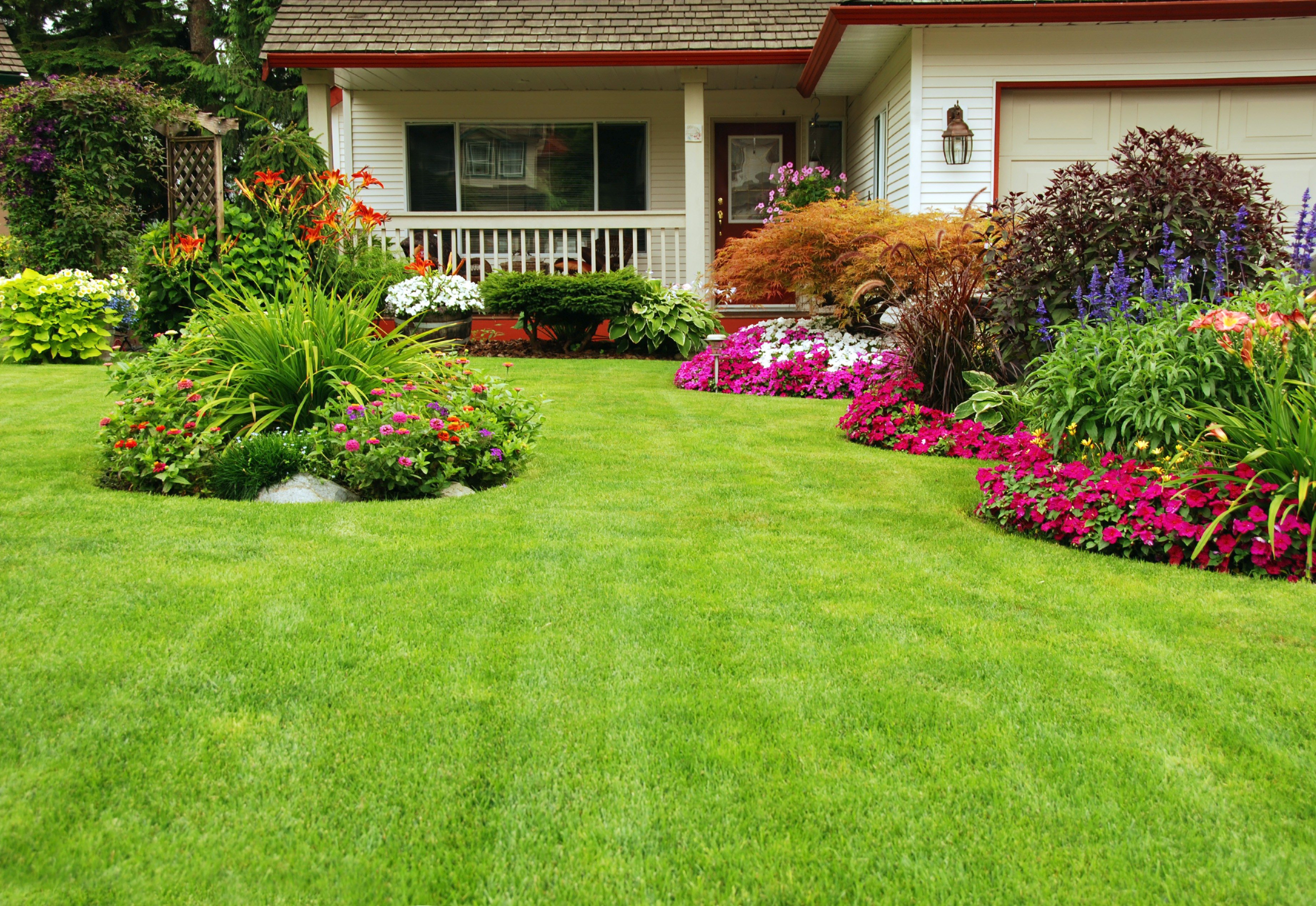 Cape cod style home landscaping ideas - Home style