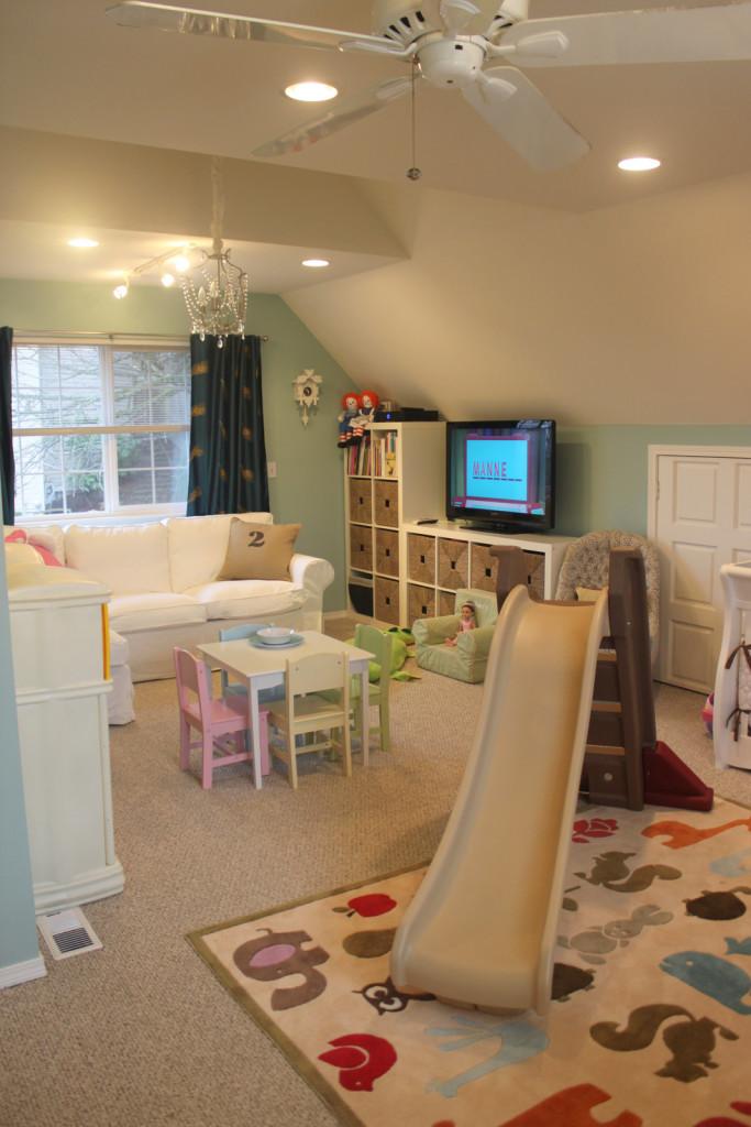 Family Room Playroom Decorating Ideas
