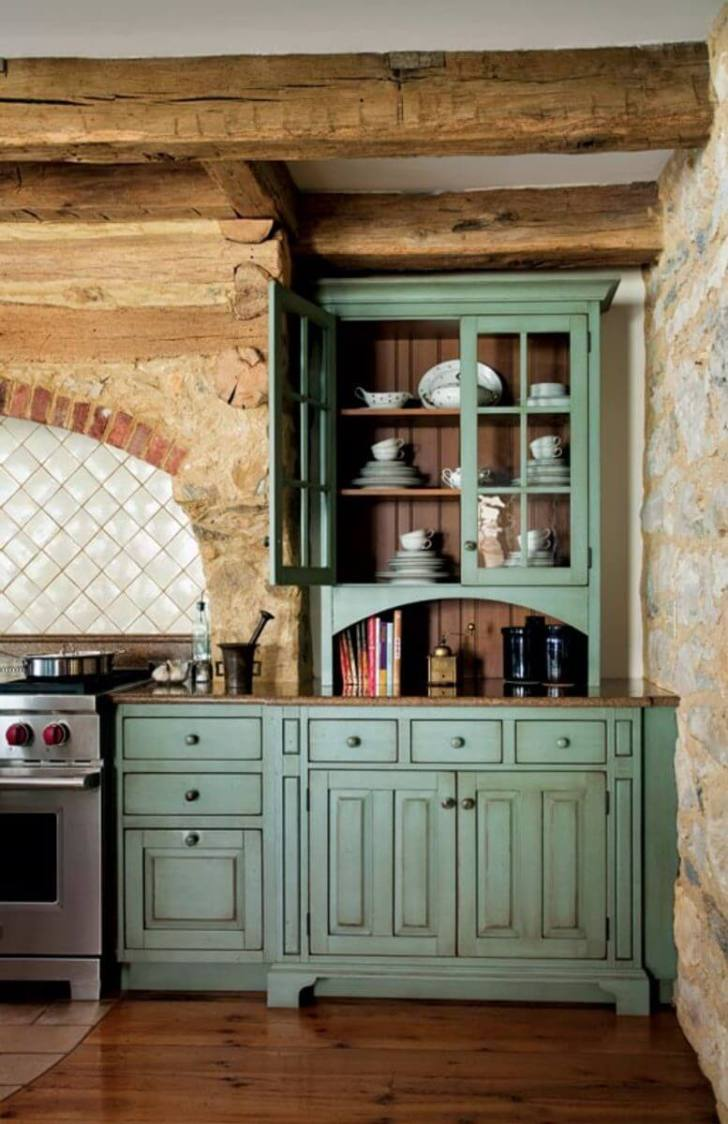 Rustic Kitchen Cabinets Ideas Homebnc
