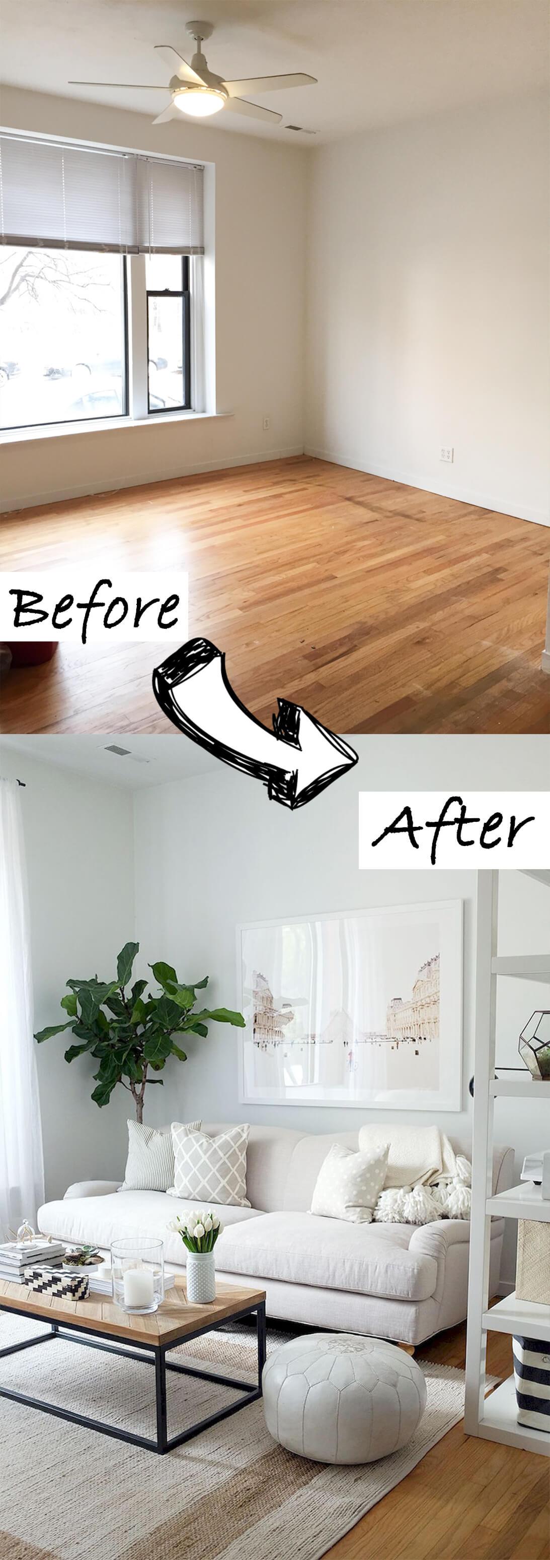 Living Room Makeover Budget