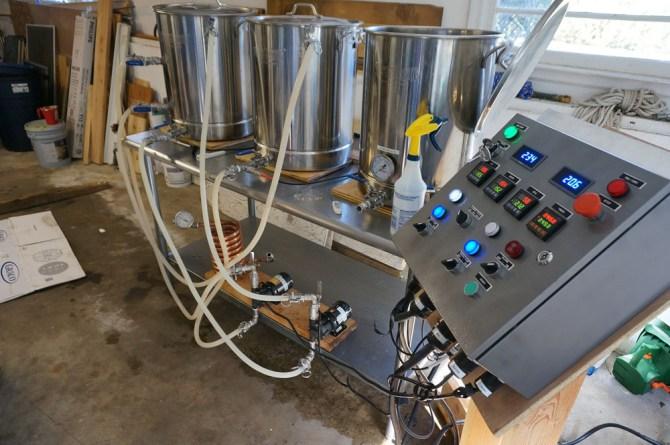 my electric brewery build  homebrewtalk  beer wine