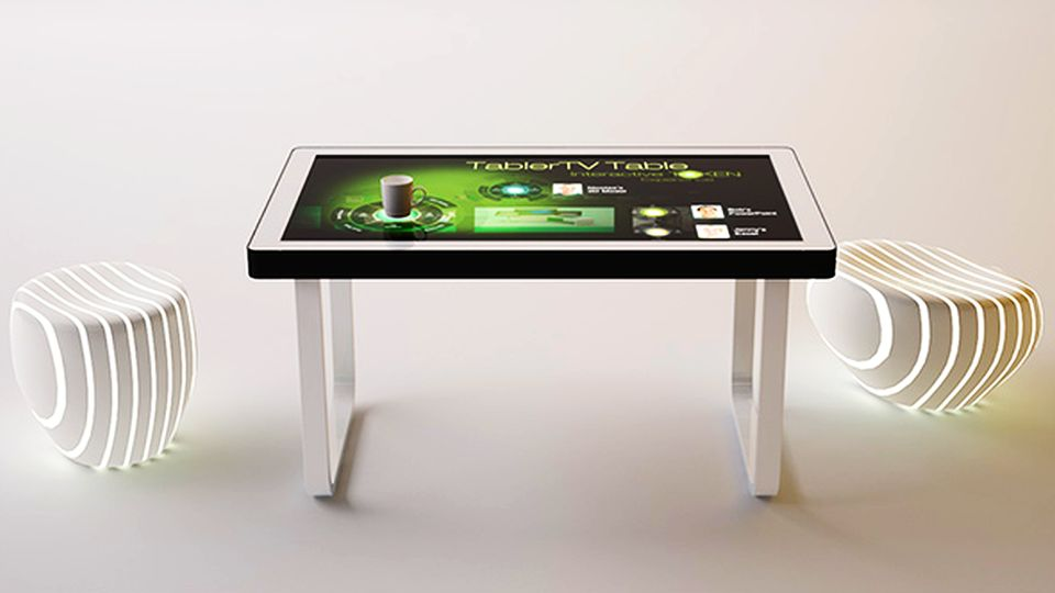 tablertv s touch screen coffee table