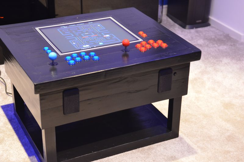 tech infused arcade coffee table made