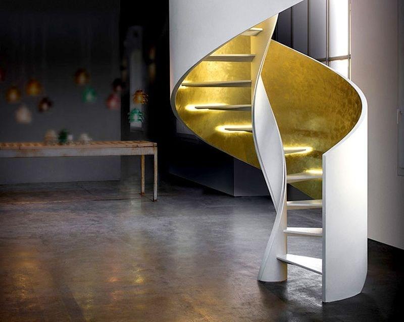 50 Best Staircase Design Ideas For Modern Homes   Design For Stairs At Home   Iron   Interior Design   Stairway   Wood   Living Room