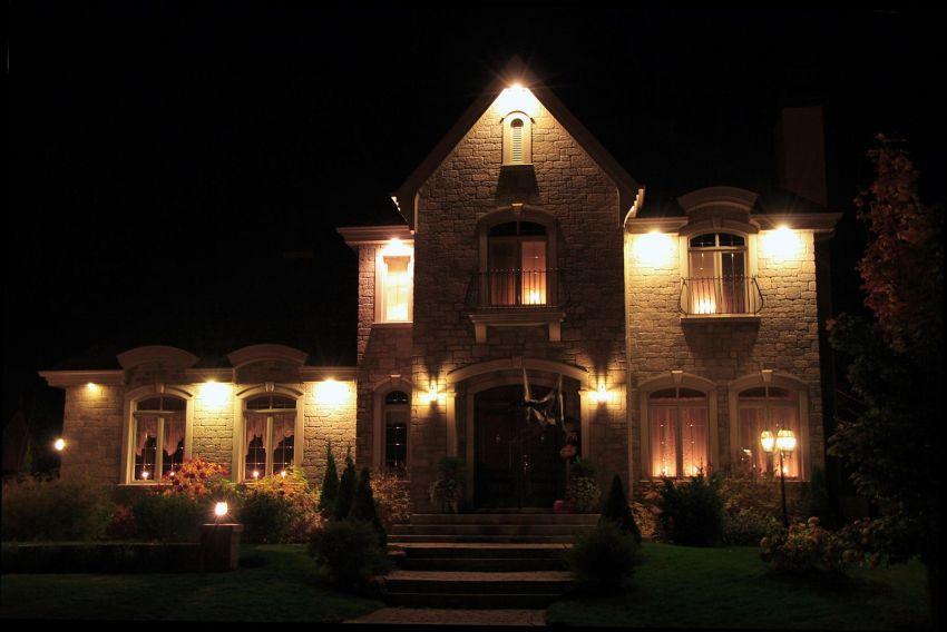 to consider when choosing outdoor lighting
