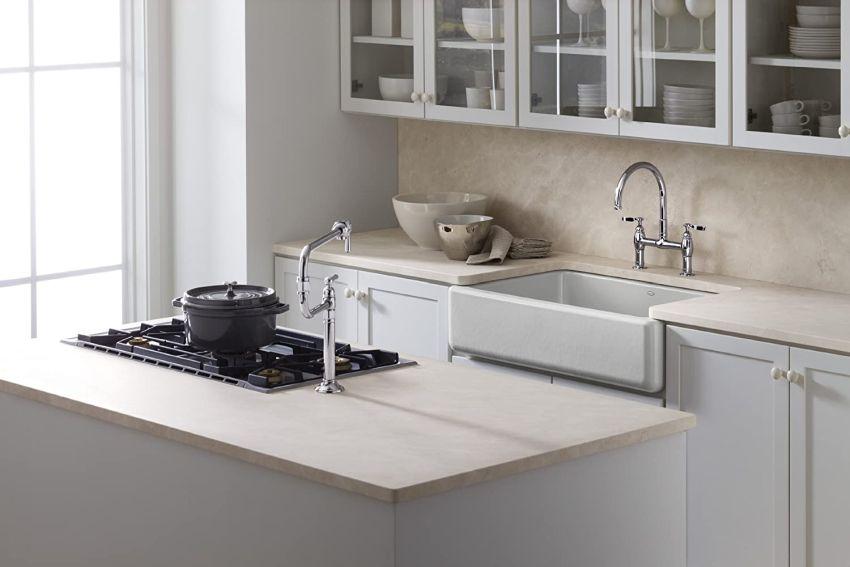 whitehaven apron front sink by kohler