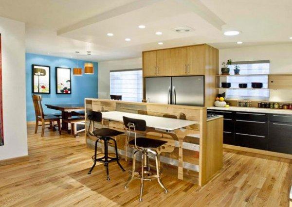 mid century modern ranch kitchen