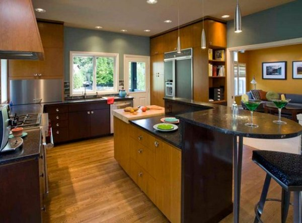 photos of mid century modern kitchens