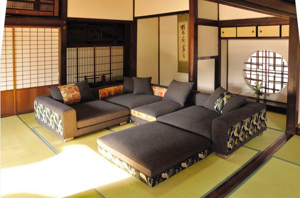 modern japanese living room furniture