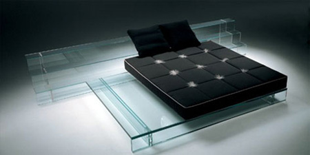 Nothing To Hide Beds Made Of Glass