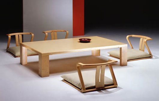 Japanese Dining Room Furniture From Hara Design