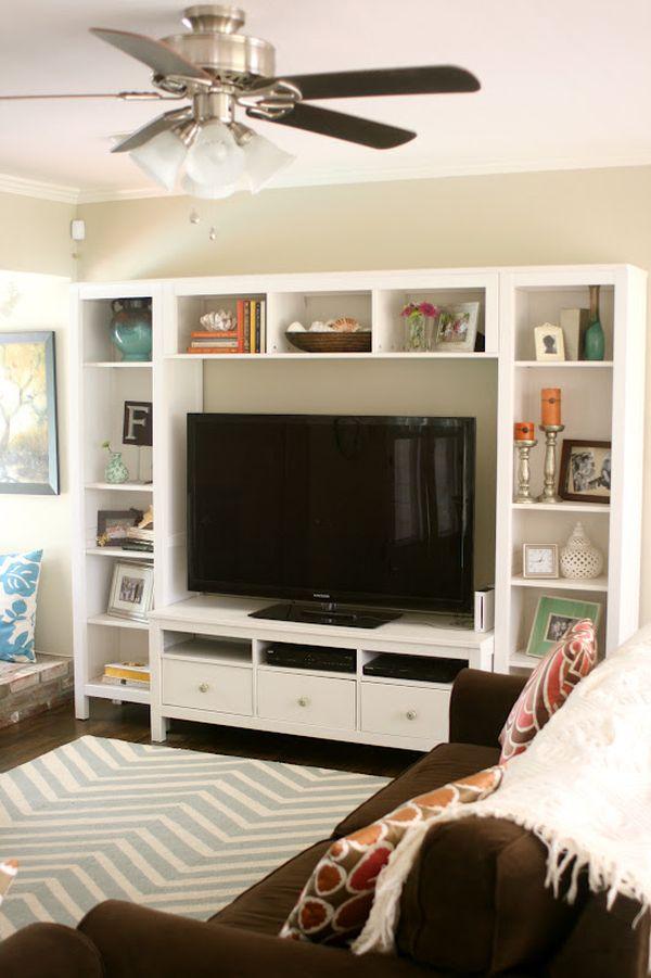 Cabinet Simple Living Room Tv Wall Design Novocom Top