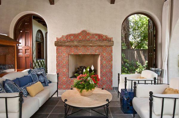 spanish style homes single story