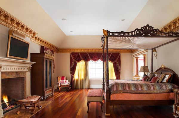 Master-bedroom-with-handmade-decorations
