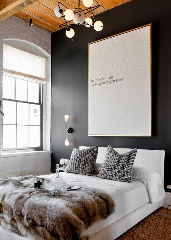 Ideas Decor Above Bed Decorating