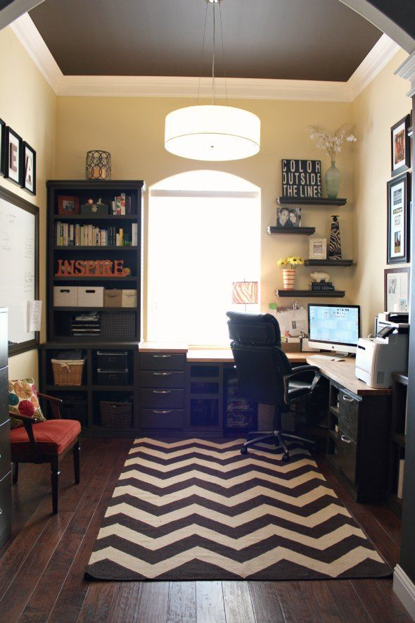 11 Simple Office Decorating Tips To Help Increase Your Productivity Add warmth with an area rug