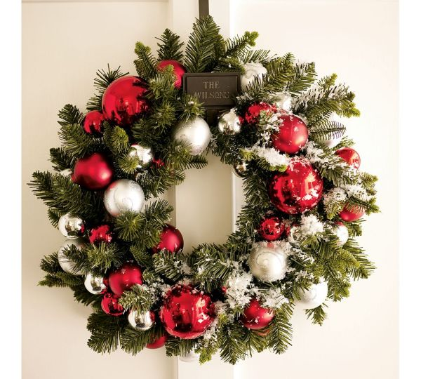 15 Christmas Wreath Ideas for 2010 by Potterybarn View in gallery