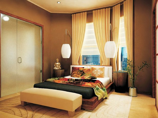 Inspirational Ideas That Turn The Bedroom Into A Peaceful