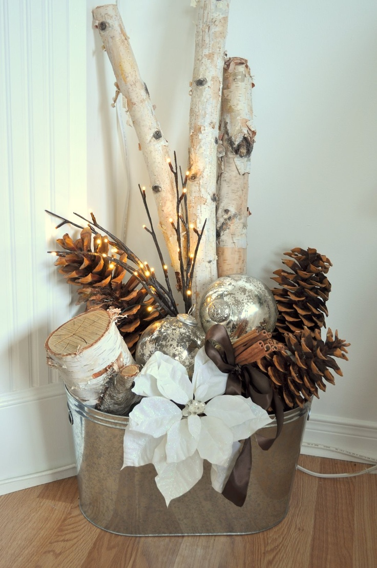 10 Winter Home Decorating Ideas Decorate with natural accents
